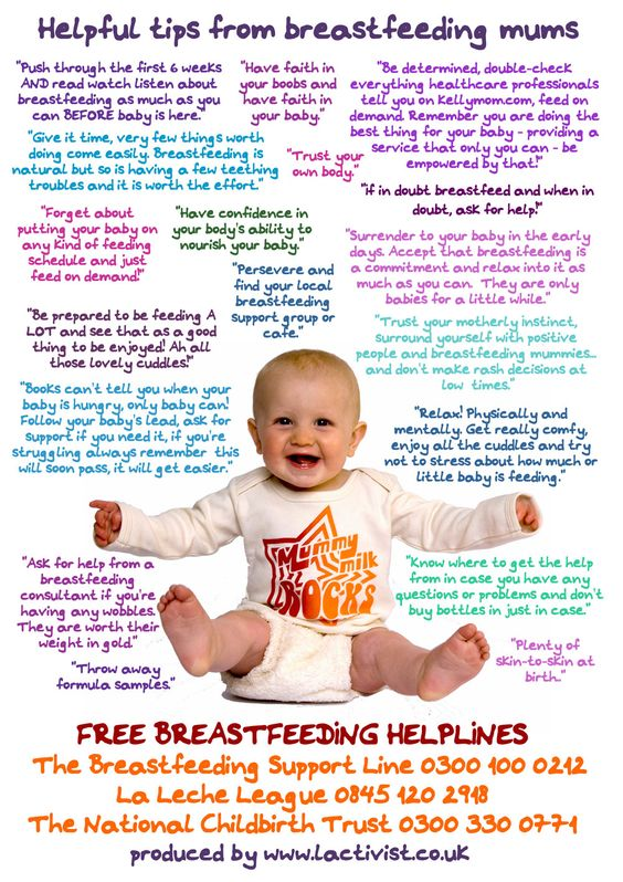 breastfeeding poster ideas