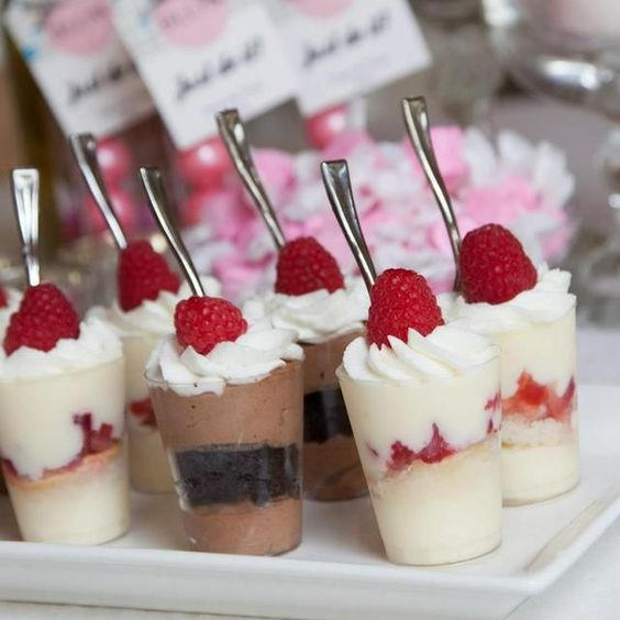 Wedding Mini Desserts: Gluten Free Desserts, Wedding Sweets And Pudding Cups On