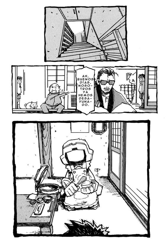 Manga FLCL Capítulo 2 Página 3