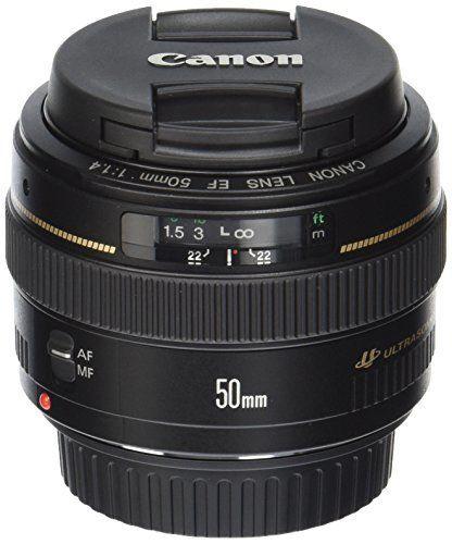 Canon EF 50mm f/1.4 USM Standard Lens for Canon SLR Camer