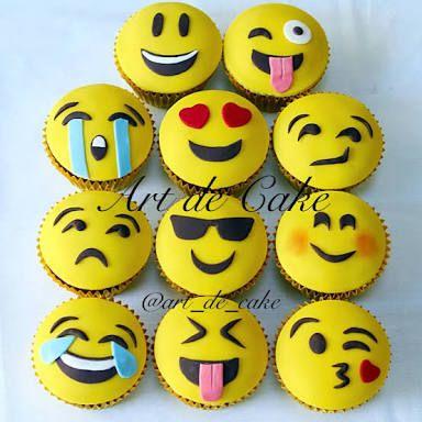 emoji cupcakes - Google Search