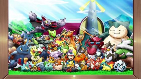 Pokemon Ash. via: http://kalos-pkmnacademy.tumblr.com/post/62322583394/look-they-add-all-the-tauros-xd