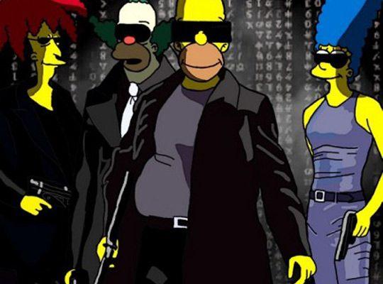 """Ilustradora faz releitura de pôsteres de filmes famosos com os personagens de """"Os Simpsons"""" (http://cherryouth.wordpress.com/2012/05/13/ilustradora-faz-releitura-de-posteres-de-filmes-famosos-com-os-personagens-de-os-simpsons/)"""