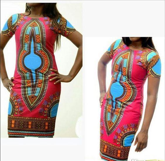 African Print Dashiki dress - The Asabi Dress, 100% Holland cotton, African Wax fabric door FashAfrique op Etsy https://www.etsy.com/nl/listing/223230008/african-print-dashiki-dress-the-asabi
