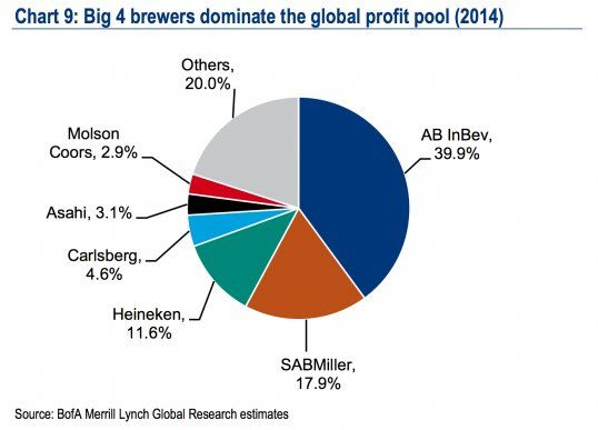 The biggest beer companies owners