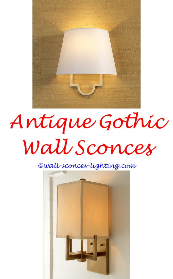 Interior Wall Sconces With Switch   Wall sconces, Decorative walls ...