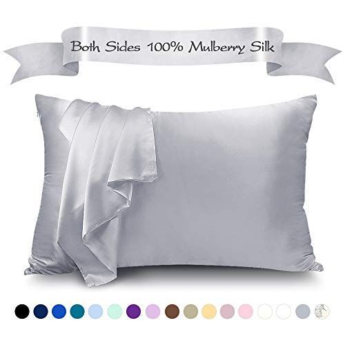 Lulusilk Mulberry Silk Pillowcase For Hair And Skin 100 Pure Silk Pillow Case Cover 16 Momme With Hidden Zi In 2020 Silk Pillowcase Hair Silk Pillowcase Pure Products