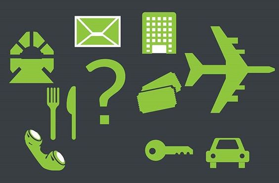 Download Travel and Communication - Illustrator Icon Set Vector Download