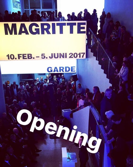Magritte exhibition opening @schirnkunsthalle Frankfurt #frankurt #ffm #schirn #schirnkunsthalle #art #magritte: