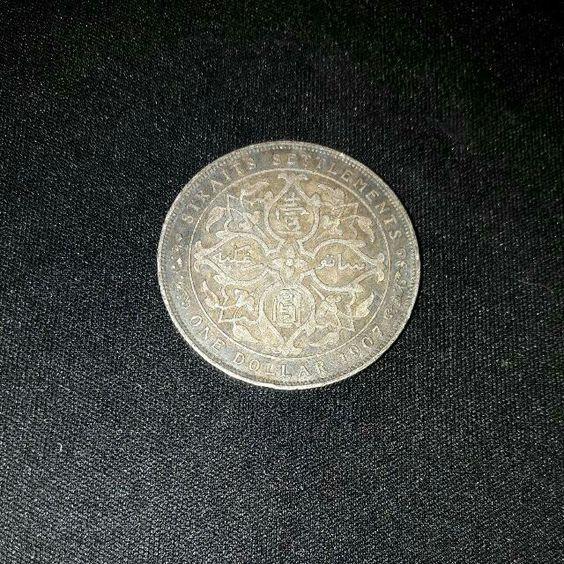 One Dollar Straits Settlements Coin