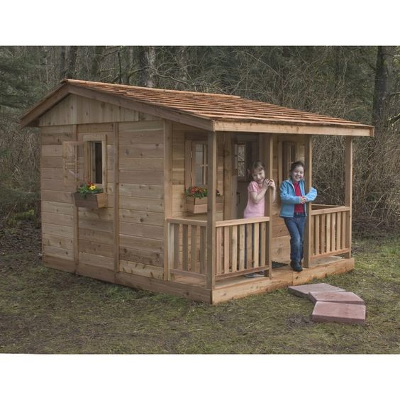 You'll love the Cozy Cabin with 4 Functional Windows at Wayfair - Great Deals on all Furniture products with Free Shipping on most stuff, even the big stuff.