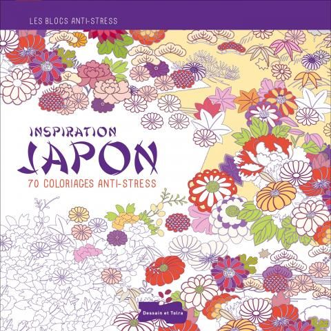 Inspiration Japon, 70 coloriages anti-stress | Editions Larousse
