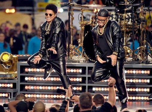 Bruno Mars Superbowl 50 Halftime Show
