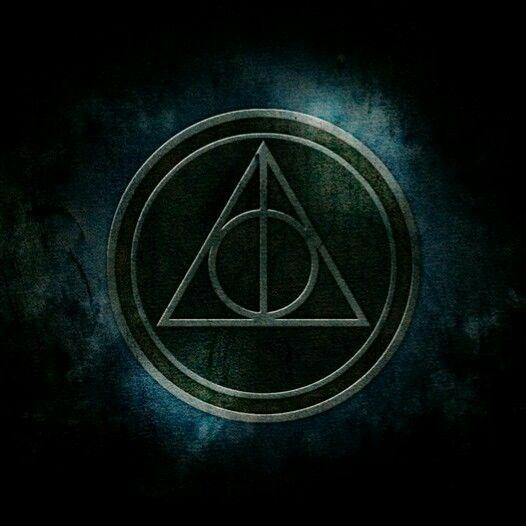 deathly hallows symbol wallpaper harry potter