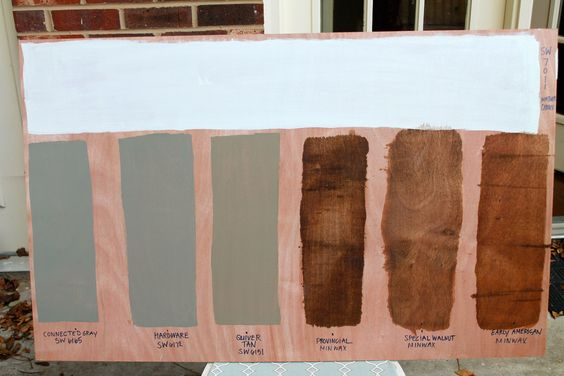 Minwax Stain Minwax And Early American On Pinterest