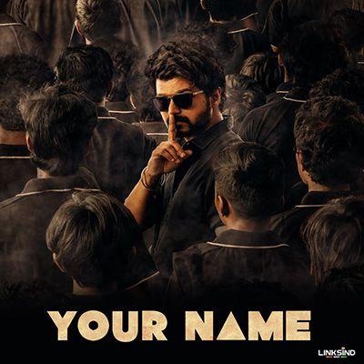 Master Movie Style Name Dp Generator Most Handsome Actors Vijay Actor Actors Images