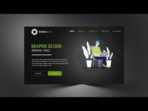 300x600 Web Banner Design Photoshop Cc 2019 Tutorial Banner Design Photoshop Design Web Banner Design