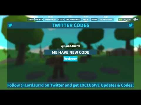 2 Code Febuary Redeploy Island Royale