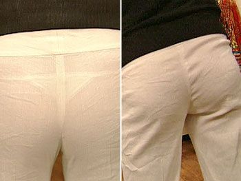 what to wear under white pants - Pi Pants
