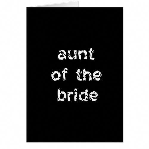 Aunt Of The Bride Card Fatherofthegroomspeech Bride Card Wedding Toast Samples Wedding Speech