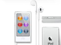 The iPod nano 7G the thinnest iPod ever. / #design #aluminium