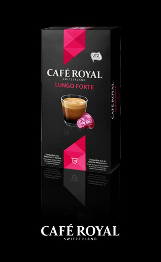 Café Royal - Lungo Forte - A coffee with a strong flavour and an ...