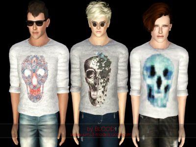 Sims 3 white dress shirt