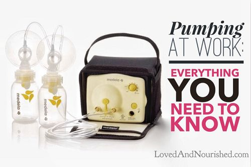 Pumping At Work: The Everything-You-Need-To-Know Guide for Working Moms