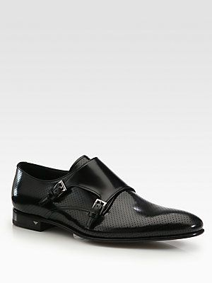 Prada Double Monk Strap Slip-On. These are kinda fancy but a little pointy for my tastes