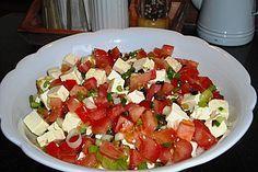 Griechischer Tomatensalat à la Dimitrios Salat - Griechenland