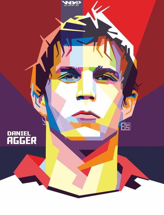 DANIEL AGGER in WPAP by budisantoso26