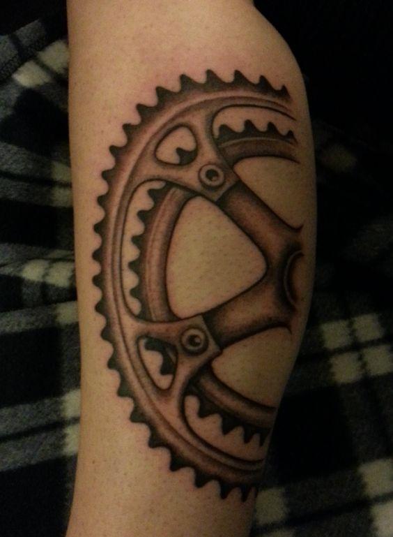 bike chain tattoo - Google Search | Tats | Pinterest ...