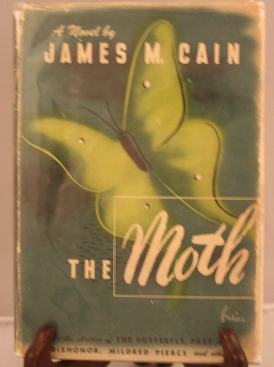 The Moth James M. Cain First Edition by TopShelfBookshelf on Etsy