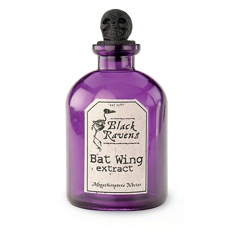 Purple Bottle Bat Wing Extract Halloween Accent at HSN.com