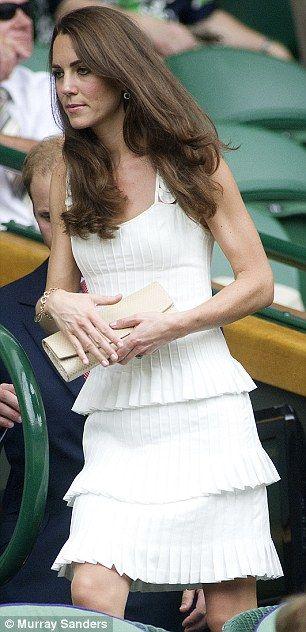 Wimbledon-beautiful dress!!!!