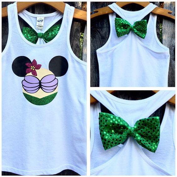 Hey, I found this really awesome Etsy listing at https://www.etsy.com/listing/242976819/little-mermaid-ariel-inspired-bow-back