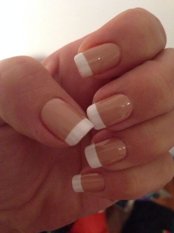 My job interview finger nails.. Wish me luck! | My nails | Pinterest ...