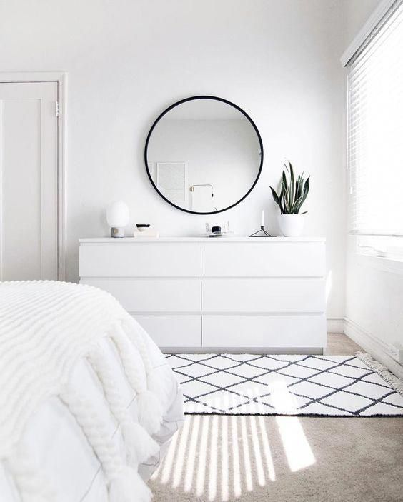 6 Ways To Make Your Rental Feel Like A Home Jessica Elizabeth Interiors Simple Bedroom Decor All White Bedroom Simple Bedroom