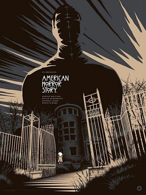 Imagen de american horror story, house, and wallpaper