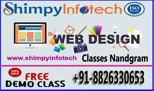 Web Designing Classes In Nandgram Ghaziabad Shimpyinfotech Call 8826330653 Seo Training Web Design Learning