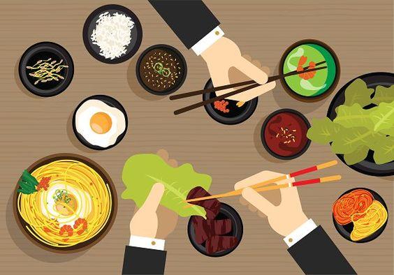 Japan food - Illustrations