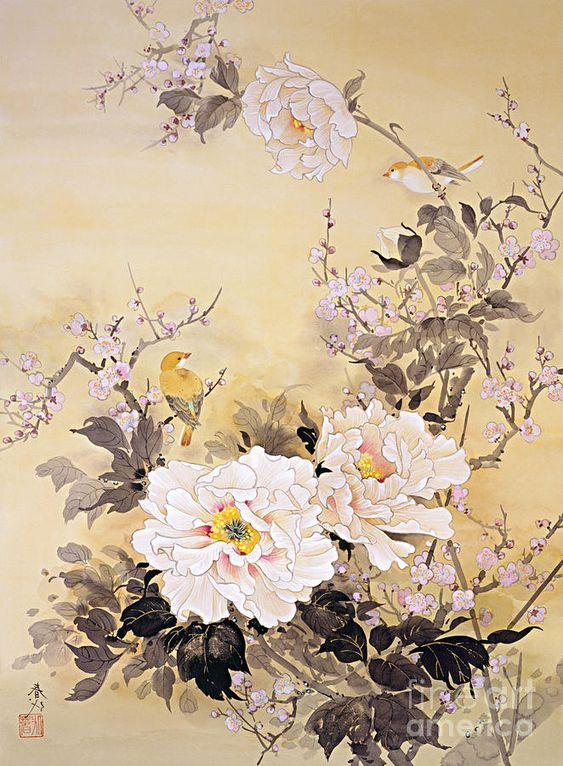 Spring Blossom II Digital Art by Haruyo Morita