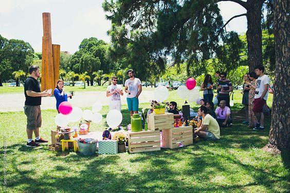 Piquenique no Parque | Inspiração para o Chá de Cozinha