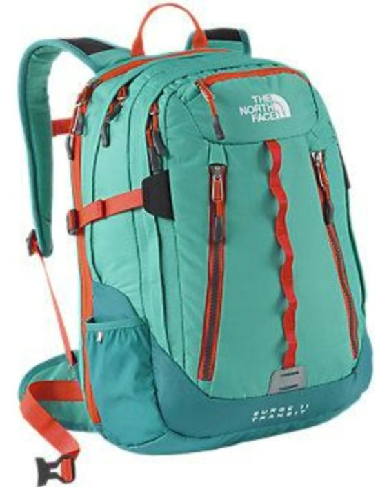 Amazon.com: THE NORTH FACE WOMEN'S SURGE II TRANSIT TSA BACKPACK BAG Billiard Green: Shoes