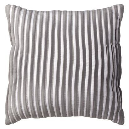 Grey Throw Pillow Target : Room Essentials Pleated Decorative Pillow - Gray. adorable nurseries Pinterest Decorative ...