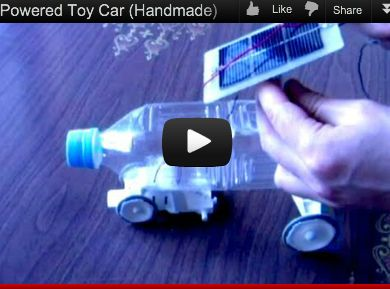 how to build a solar powered car