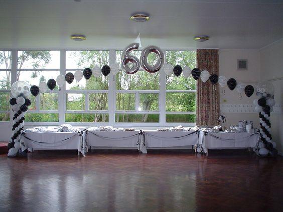 60th birthday party ideas  party ideas  Pinterest  Birthday Party ...