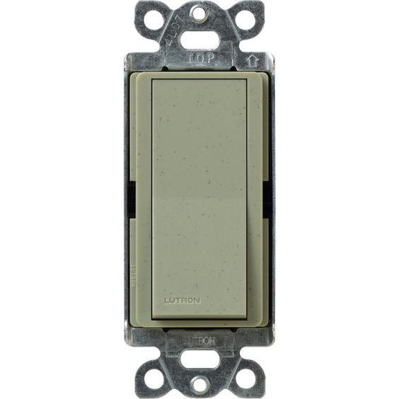 Claro 15 Amp 3-Way Rocker Switch,