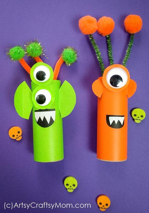 rolos de papel aliens