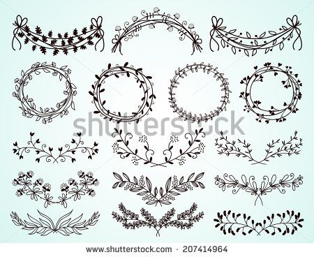 Round Vintage Flower Border Vector Free Vector For Free